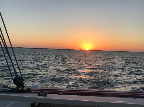 Cayman Yacht Charters: The evening glow across the North Sound