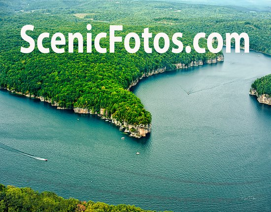 Sarge's Dive Shop : Aerial shot of Long Point on Summersville Lake, WV.