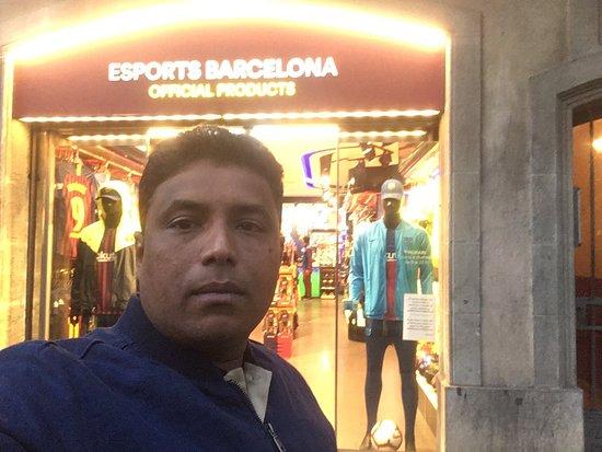 람블라 거리 사진
