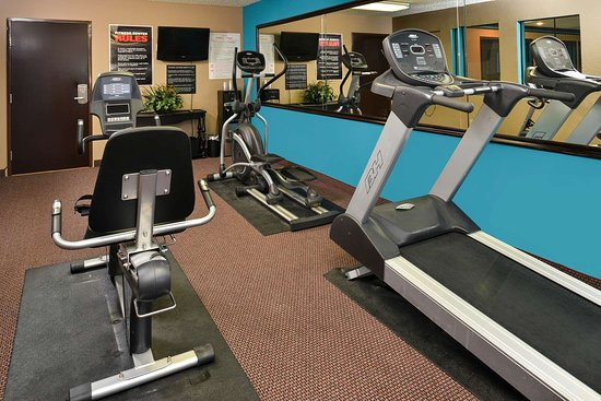 Boarders Inn & Suites by Cobblestone Hotels - Ardmore: Fitness Center