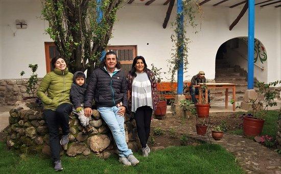Hospedaje El Portón: Nuestros huéspedes disfrutando su estadía en nuestro hostal.