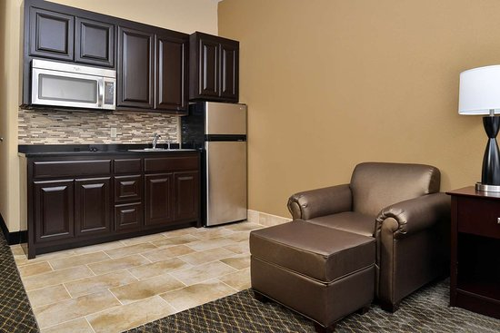 Boarders Inn & Suites by Cobblestone Hotels - Ardmore: Kitchenette Suite Amenities