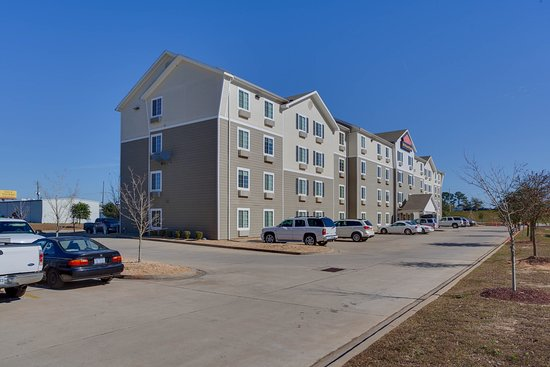 WoodSpring Suites Mobile: Ext Panorama Day