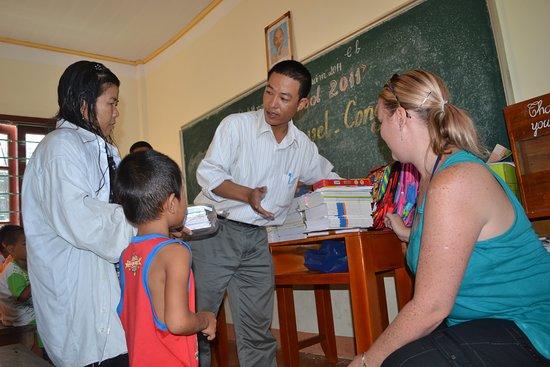 Origin travel donate trip 2011 at Halong Bay