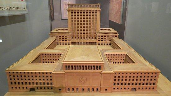 Unreconstructed Building designed by Albert Speer.