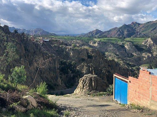 Oasis near La Paz
