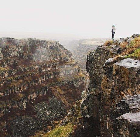 Kasakh River gorge