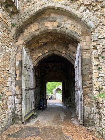Main entrance to castle