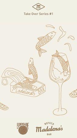 Sardines into wine
