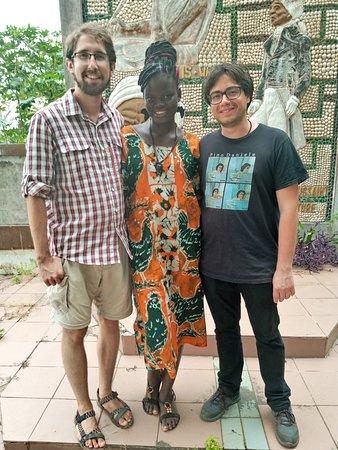Ouidah, Bénin: Diaspora of zomachi jah Rastafara