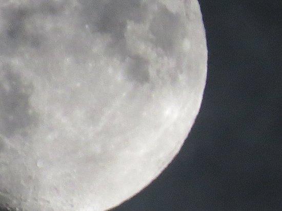 Nara Prefecture, Japón: 月面アップ