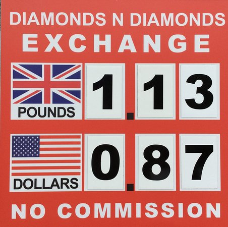 We Exchange almost all types of Foreign exchange ( Pound , Dollar , Swiss Franc , Scandinavian krones) at best rates in town .