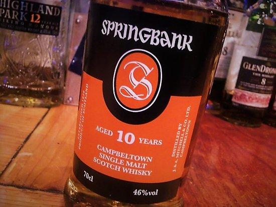 Whisky Pub Distill: 品薄中のスプリングバンク、げっとです(´-∀-)