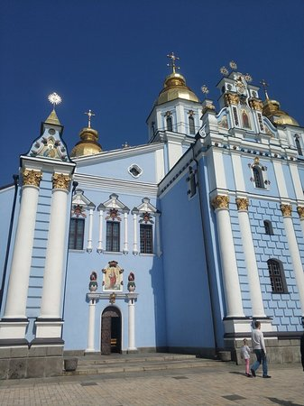 St  Michael's Golden Domed Monastery: Amazing cathedral! If u're in Kyiv I think you should visit here.