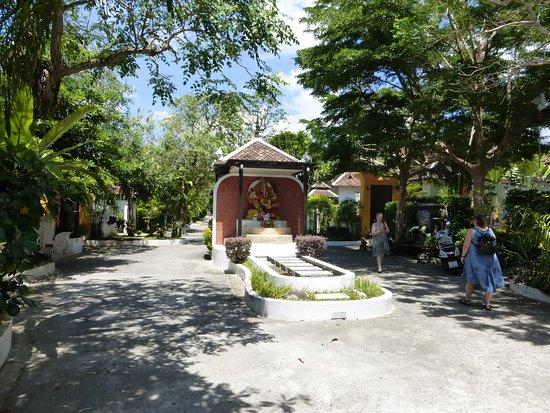 Mandawee Resort & Spa: Pasillo central