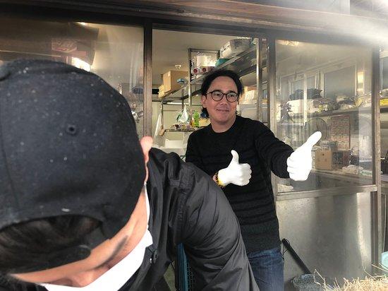 Susaki, Japani: Happy travelers!