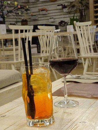 Casa Mastroianni: Spritz (trop de glaçons)