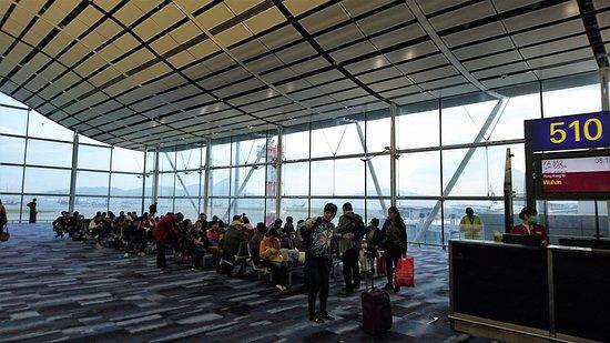دراجون إير: 機場登機閘口