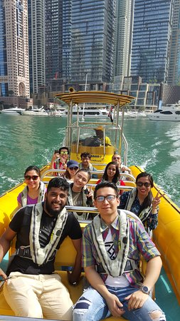 The Yellow Boats: Dubai Marina
