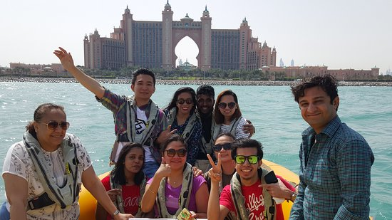 The Yellow Boats: Atlantis The Palm