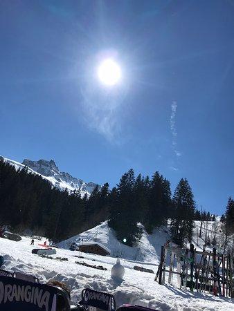 Un beau domaine skiable