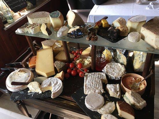 Bex, سويسرا: Plateau de fromage