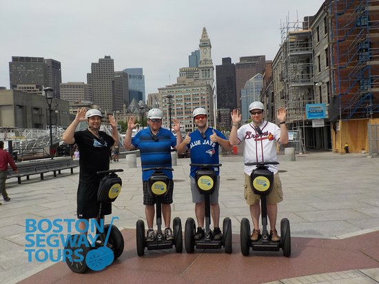 Visiting the #Boston to see the #Redsox, #Patriots, #Bruins or #Celtics this year? Join us on a #Segway #tour during your #family trip! 😎 www.bostonsegwaytours.net