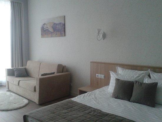 Velsk, רוסיה: уютный, комфортный номер в Отеле на Ваге.