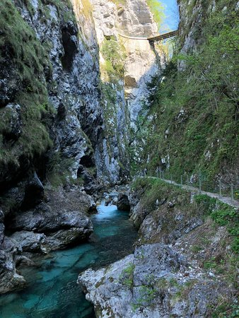 Logje, Slowenien: Napoleon Bridge