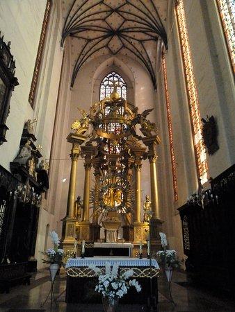 St. Mary's Church: Inne i Jungfru Maria-kyrkan (Kosciol Mariacki) i Torun