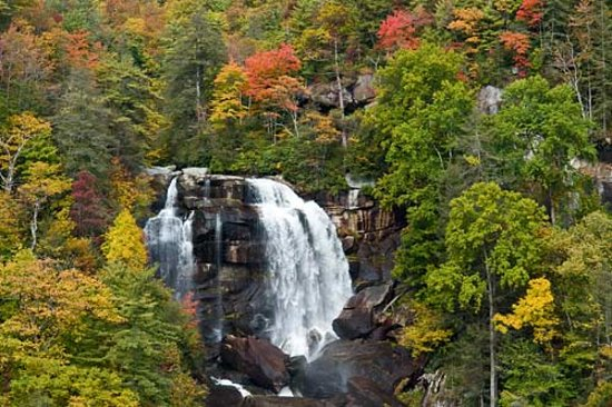 BEAUTIFUL WHITEWATER FALLS, THE HIGHEST WATERFALLS EAST OF THE ROCKIES AT A SPECTACULAR 411-FOOT PLUNGE.  IT IS THE PRIDE NANTAHALA NATIONAL FOREST.  IT IS A MUST SEE!