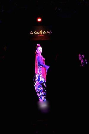 Tablao flamenco La Cueva de Lola: Claquette