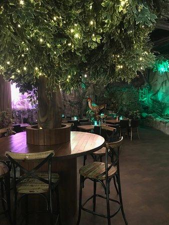 T-Rex Restaurant: Coffee corner