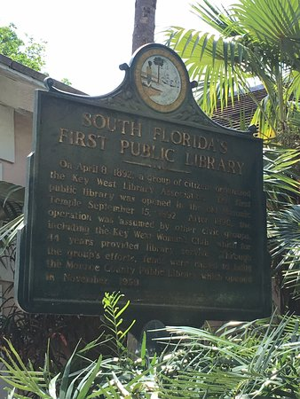 Monroe County Public Library Key West Branch: Great historic building !