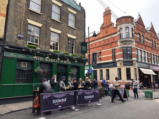 Pubs by Borough Market.