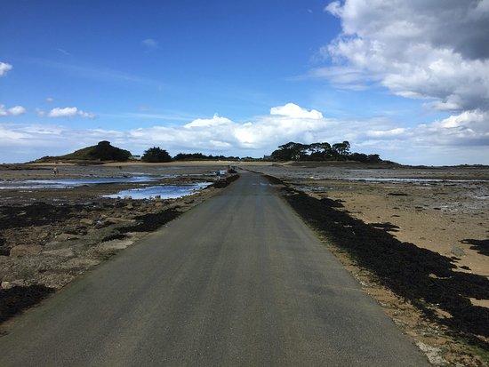 Chemin d'accès  /!\ à la marée