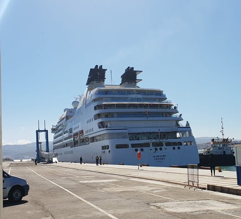 Welcome to Tangier (Seabourn)