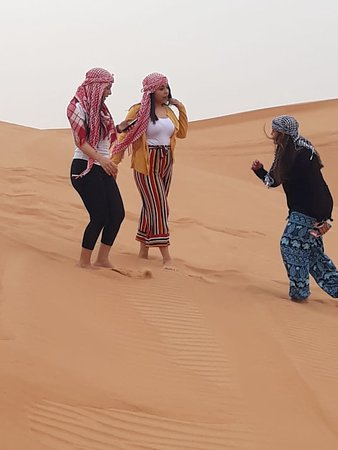 Fun in the Desert Safari Dubai