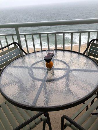 Balcony View of Ocean