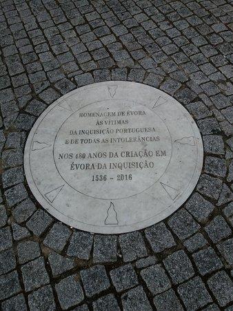 Homenagem as vitimas da Inquisicao em Portugal
