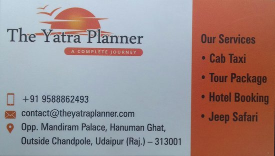 The Yatra Planner