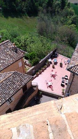 Monteleone di Fermo, İtalya: BELVEDERE   ristorante bar pizzeria