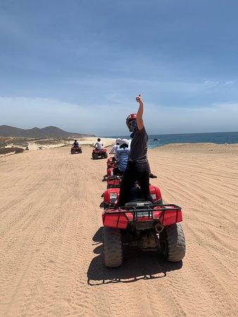 Migrino Beach Single ATV Tour in Los Cabos: So beautiful!