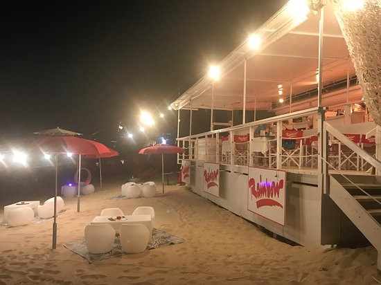 Rainbow Cafe: View from the Beach