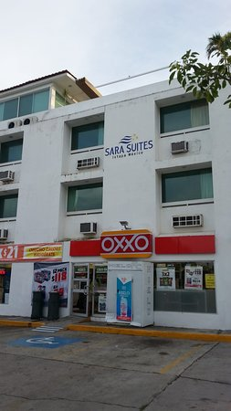 Sara Suites: It might be best to avoid rooms over the Oxxo store