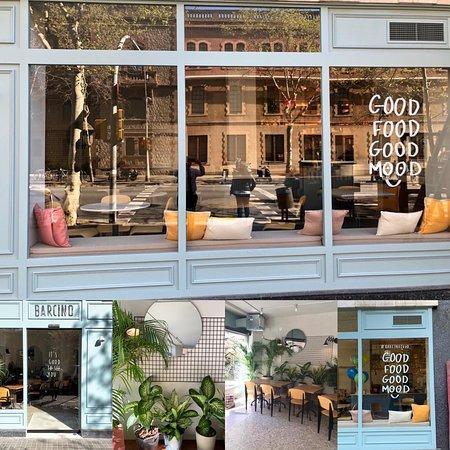 Lugar acogedor, comida completa y estilo Brunch, zumos naturales y oferta global.