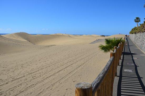 Playa de Maspalomas: duin promenade