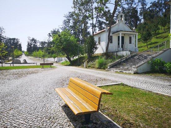 Jardim frente ao Spa