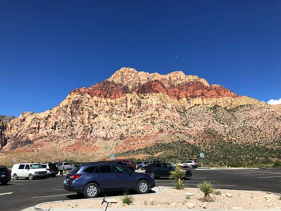 Scooter Tours of Red Rock Canyon: From stop 4 of the trip