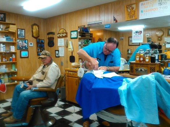 Inside the Winfield Barbershop